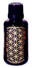 Blume des Lebens - Violettglasflasche 30 ml