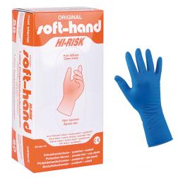 Soft-Hand LATEX puderfrei Hi-Risk M - mittel