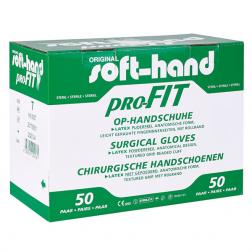 Soft-hand proFIT® Latex puderfrei Größe 7,5 groß