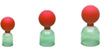 Acryl-Schröpfgläser Saugball