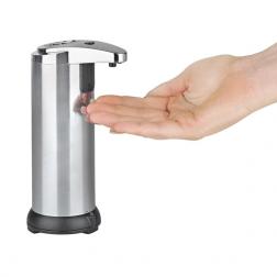 Seifen- und Desinfektionmittelspender mit Infrarot Sensor, 250 ml