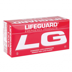 Lifeguard Latex - puderfrei L - groß