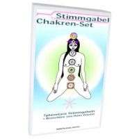 Stimmgabel Chakren Set S