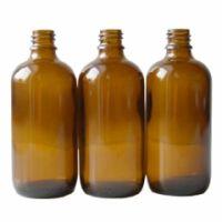 Braunglasflasche 100 ml DIN 18 ohne Verschluss