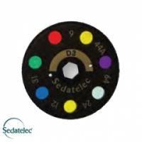 Farbscheibe D3 für Premio 40 Light von Sedatelec