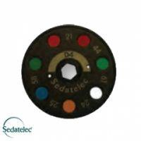 Farbscheibe D4 für Premio 40 Light von Sedatelec