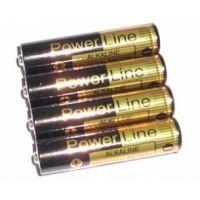 Silberbauer Alkali-Mangan-Batterien