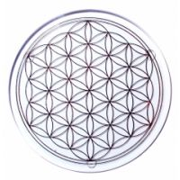 Blume des Lebens - Glasuntersetzer