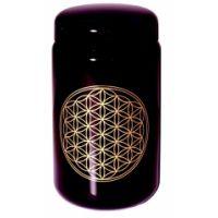 Blume des Lebens - Violettglas Dose 400 ml