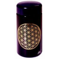 Blume des Lebens - Violettglas Dose 100 ml