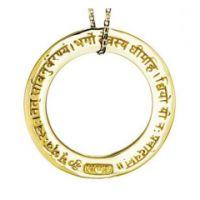 Anhänger GAYATRI MANTRA - Gold / ohne Ös e