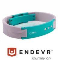 MyID® Armband Luxe hellgrau / türkis