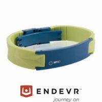 MyID® Armband Luxe hellgrün / blau