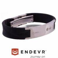 MyID® Armband Luxe schwarz / silber