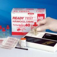 Vierkant Küvetten HB 40 Teste, Lanzetten u. Alkoholtupfer