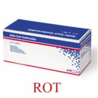 Delta-Cast® Conformable BSN - 7,5 cm x 3,6 m, ROT