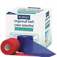 Urgomull® haft color latexfrei BLAU 8 cm x 20 m