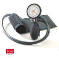boso clinicus II, Ø 60 mm mit Klettenman schette, SCHWARZ
