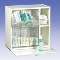 Injektionsmaterial-Spender weiß