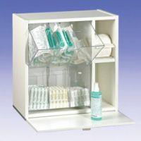 Injektionsmaterial-Spender lichtgrau