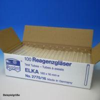 Reagenzgläser ELKA, normalwandig 160 mm x Ø 16 mm (100 Stck.)