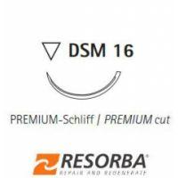 GLYCOLON® DSM 16 5/0=1 violett Fadenlänge 45 cm (24 Stück)