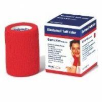 Elastomull® haft color BSN - Rot 8 cm x 20 m