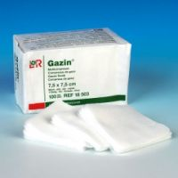 Lohmann Gazin® Mullkompressen 8-fach 7,5 x 7,5 cm UNSTERIL