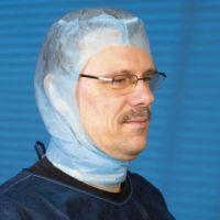 mediware Chirurgen-Haube Astronaut BLAU