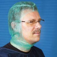 mediware Chirurgen-Haube Astronaut GRÜN