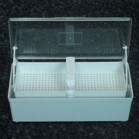 Desinfektionswanne 1 Ltr. mit Siebkorb u nd Klarsichtdeckel