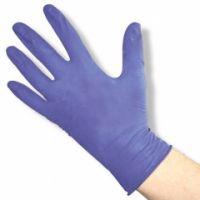 SOFT line Nitril violett - puderfrei M - mittel