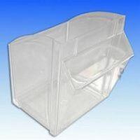 Innenbehälter für Spritzen- und Kanülens pender 4-fach