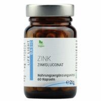 Zink, 15 mg (Gluconat), 60 Kapseln