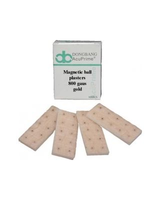 Magnet-Kügelchen vergoldet