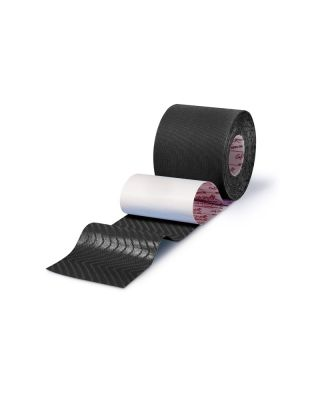 Gatapex Rayon Kinesiology-Tape Kunstseide  5cm DIAMOND BLACK