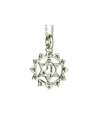 Anhänger 4. Chakra (Herz-Chakra) - Silber