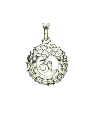 Anhänger 7. Chakra (Kronen-Chakra) - Silber