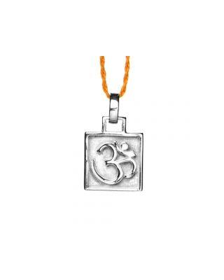 Anhänger OM Amulett - Silber