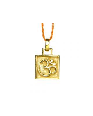 Anhänger OM Amulett - Gold