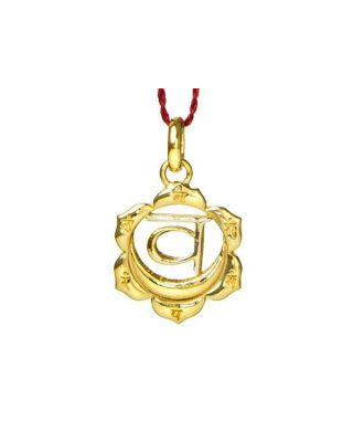 Anhänger 2. Chakra (Sexual-Chakra) - Gold