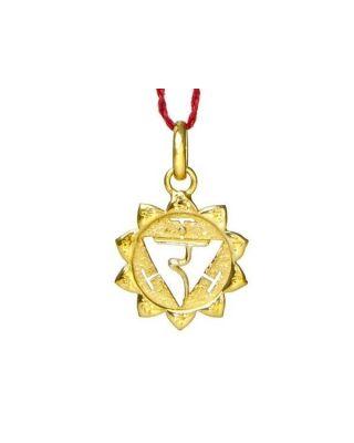 Anhänger 3. Chakra (Nabel-Chakra) - Gold