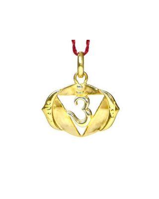 Anhänger 6. Chakra (Augen-Chakra) - Gold