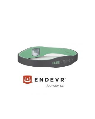 Energiearmband Pure Serie mint / grau - XS