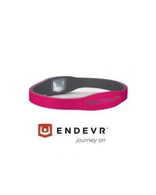 Energiearmband Pure Serie pink / grau - XS