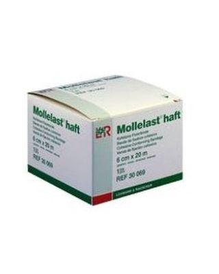Lohmann Mollelast® haft - Einzelbinde im Karton 4 cm x 4 m