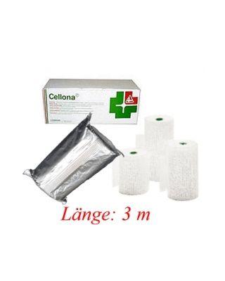 Cellona® Gipsbinden 8 cm x 3 m - 2 mal 5er-Einheiten