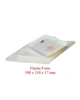 Instrumententablett Flache Form 190 x 150 x 17 mm