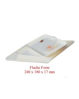 Instrumententablett Flache Form 240 x 180 x 17 mm